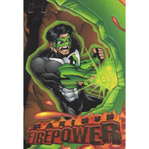1996 Skybox Dc Outburst Maximum Power Green Lantern #8