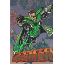 1996 Skybox Dc Outburst Maximum Power Green Lantern #17