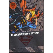The Death Of Superman Omnibus Hardcover 1st Printing Hm4