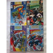 Superman Mundos En Colision, Editorial Vid 4 Tomos