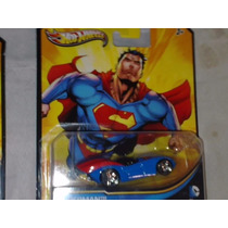 Automovil Hot Weels Dc Comics Superman Liga De La Justicia