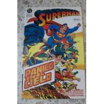 Superman Panico En El Cielo Tpb Dc Mexico Comic
