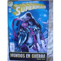 5 Comics De Superman Mundos En Guerra 1 2 3 4 6 En Español