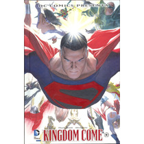 Kingdome Come - Dc Comics - Pasta Dura - A Meses!
