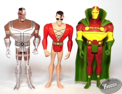 14 Dc Universe Justice League Unlimited Cyborg Plastic Man $ 1400 Justice League Unlimited Cyborg