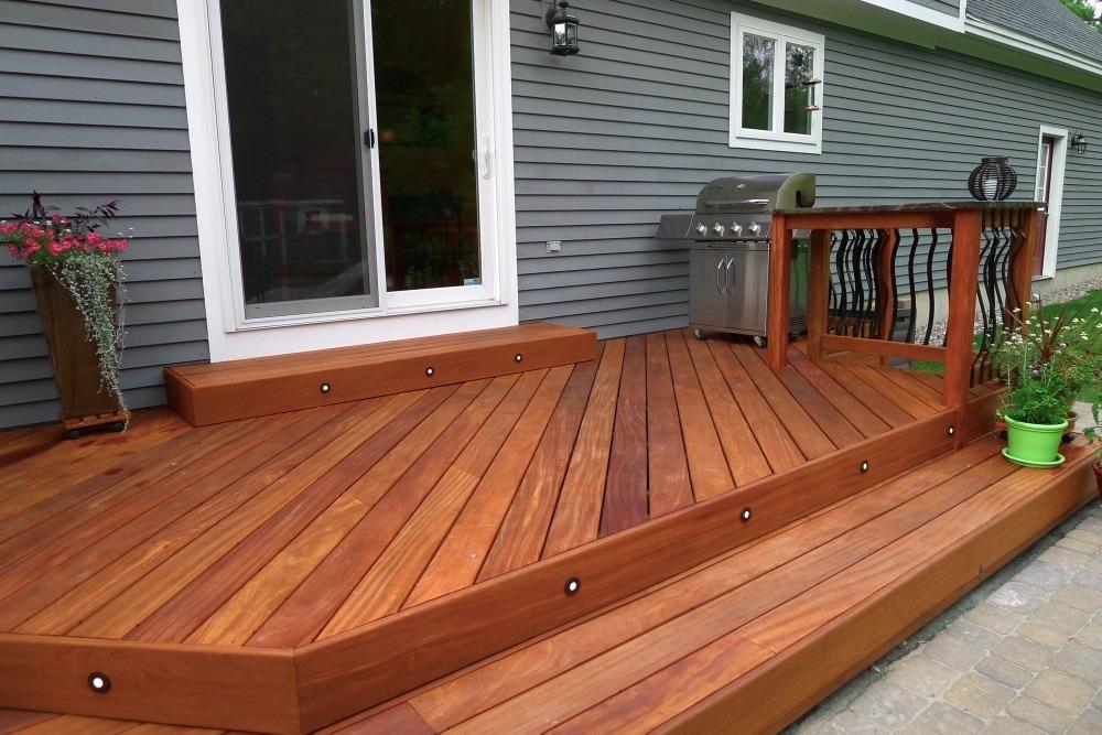 deck de cumaru piso de madera para exterior peruano en mercadolibre