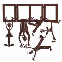 Figuras Metálicas Decorativas Familia Exclusivo Diseño