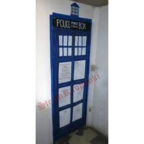 Doctor Who Door Cover Convierte Tu Puerta En La De Un Tardis