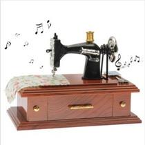 Caja De Música En La Forma De La Máquina De Coser (yl3010)