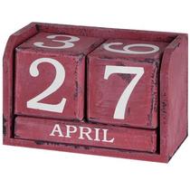 Perpetuo Calander - Calendario Rojo Artículos De Regalo De