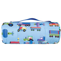 Tb Cobertor Wildkin Olive Kids Train, Planes And Trucks