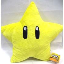 Tb Almohada Super Mario Brothers : Star Starman Plush - 11