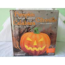 Calabaza Animada Y Con Sonido Para Decoración De Halloween
