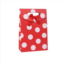 caja De Regalo De Papel Rojo Y Blanco