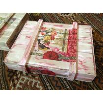 Cajas Vintage Decorativas De Madera