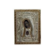 Cuadro De La Virgen De Guadalupe En Repujado