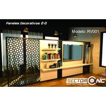 Paneles Decorativos - Corte Cnc - Biombos - Sector Cnc