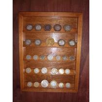 Marco Exhibidor De Monedas Para Colecionistas