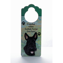 Adorno Para Puerta Scottish Terrier - Unicos!