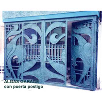 Puerta Algas De Herreria Rustica Fina