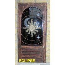 Puerta Eclipse De Herreria Rustica Fina