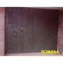 Puerta Romana De Herreria Rustica Fina