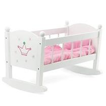 Baby Doll Cuna O Cuna Mecedora Muebles | Se Adapta A Las Muñ