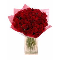 Ramo De 48 Rosas Flores Cal Exportacion A Domicilio Colores
