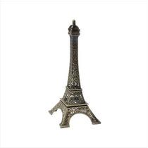 Mini Torre Eiffel De Bronce De París