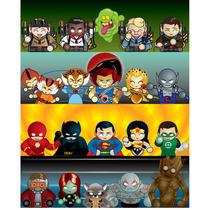 Tazas J L A, Sailor Moon, Avengers, Thundercats, Ghostbuster