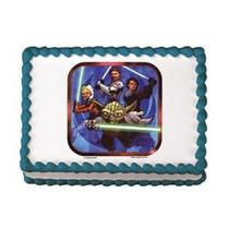 Star Wars Imagen Comestible Decoración De La Torta