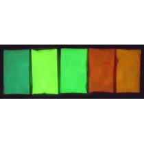 Pigmento En Polvo Fotoluminiscente Color Neon, 25 Gramos