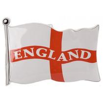 Inglaterra Bandera - Plástico Vacío Formado Placa 25x18
