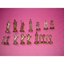 Figuras En Miniatura De Bronce Caballos Dioses Y Otros