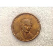 Medalla Antigua De San Juan Bautista De La Salle