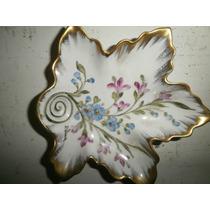 Limoges -porcelana Blanca Pintada A Mano,numerada Y Firmada