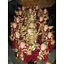 Lote De 16 Angeles Porcelana Pino Navidad