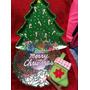 Charola Arbol Y Adornos De Navidad