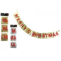 Decoración De Navidad - 3 Piezas 1.2 Metrex 13cm Lazer Feliz