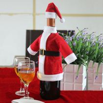 Traje Santa Claus Para Botella