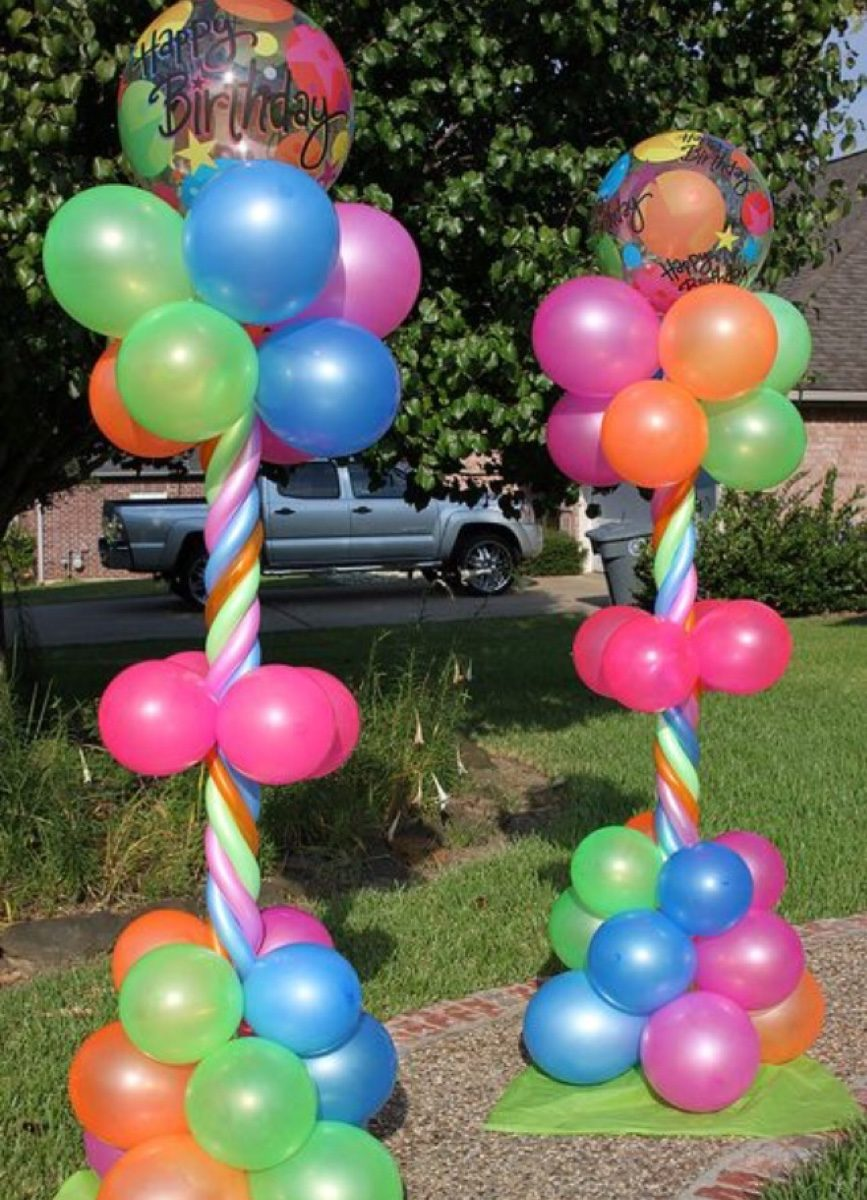 Decoracion con globos baby shower boda fiesta 15 a os - Globos fiestas infantiles ...