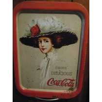 Antigua Charola Coca Cola Hamilton King