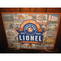 Lamina Decorativa De Trenes Lionel