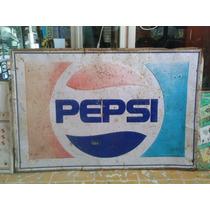 Lamina Troquelada Pepsi Años 70s