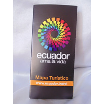 Mapa Turistico De Ecuador
