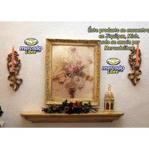 Cuadro Con Imagen, Renovado Al Estilo Shabby Chic, Vintage B