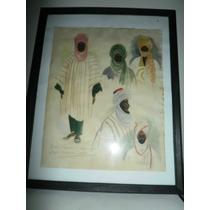 Acuarela De El 1956 Nigeria Africa De Phillipe