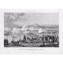 Grabado De Constantino Escalante: 5 De Mayo - Batalla Ganada