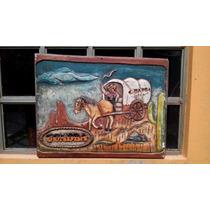 Antiguo Cartel Madera Publicitario