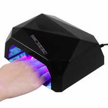 Lampara Led Y Uv Uñas Gel Gelish Acrilico + 300 Cristales